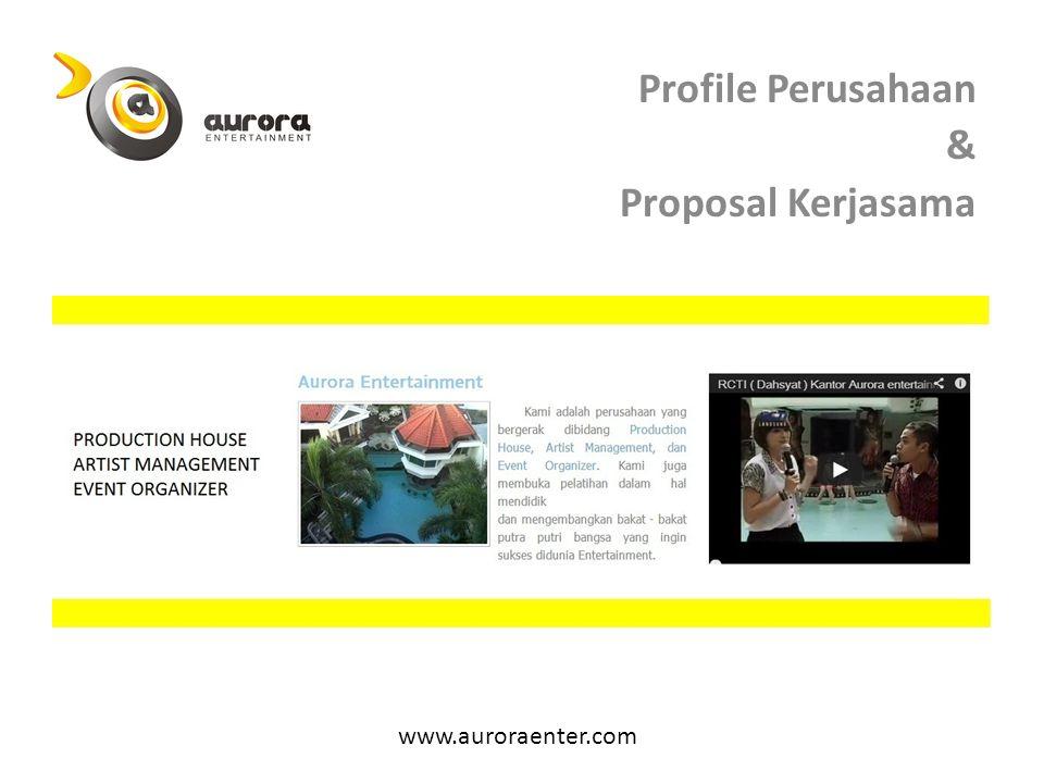 Profile Perusahaan & Proposal Kerjasama