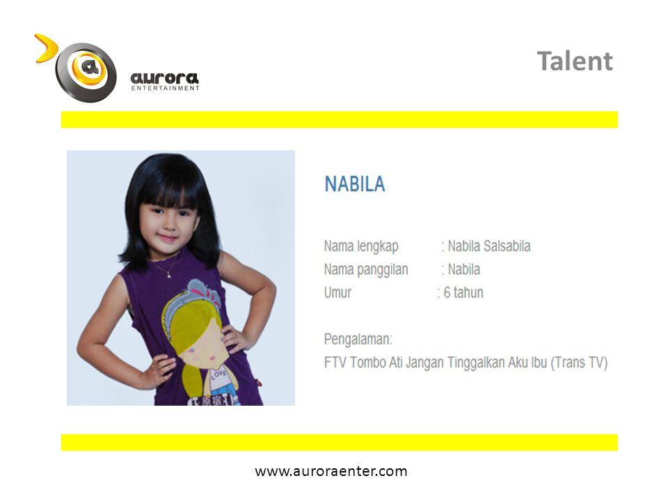 Talent www.auroraenter.com