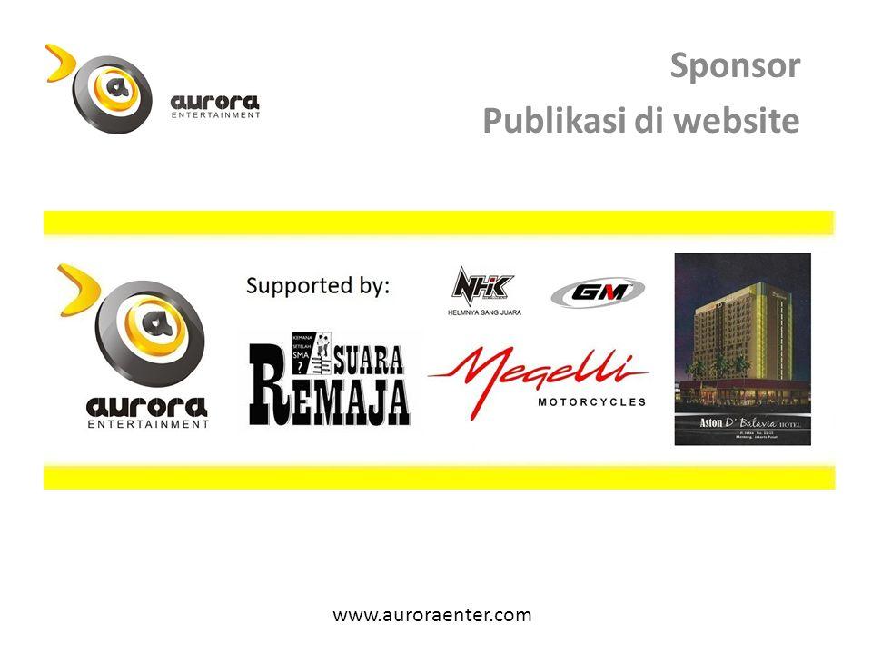 Sponsor Publikasi di website
