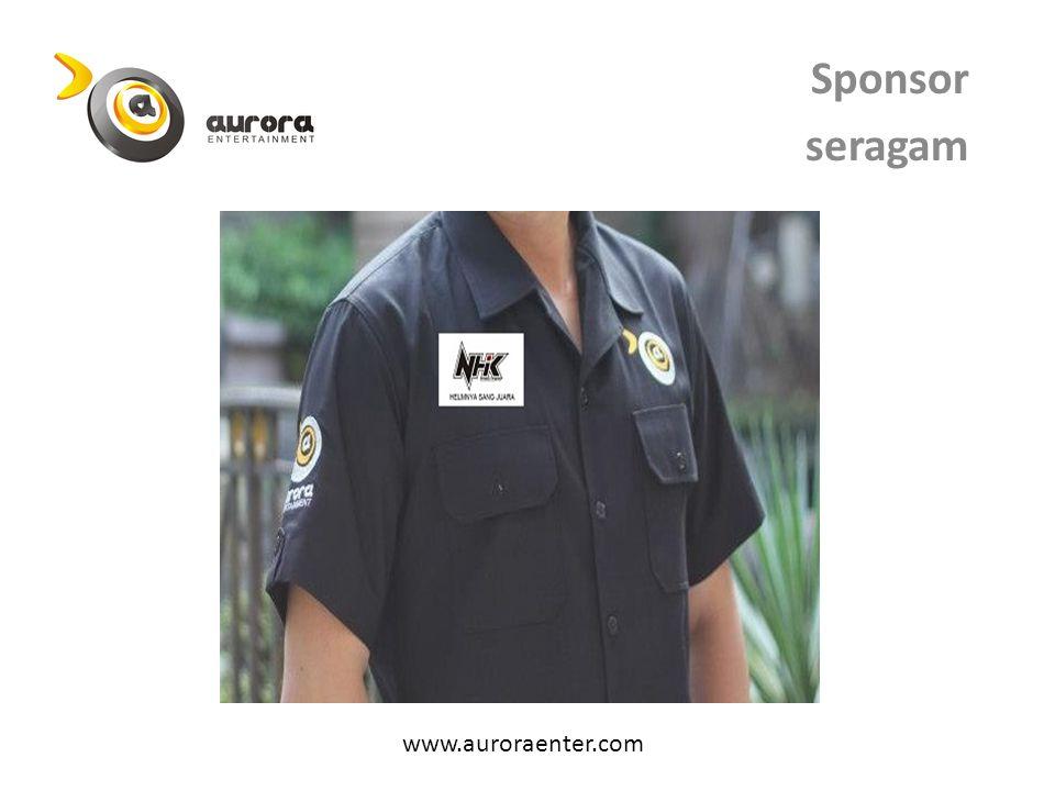 Sponsor seragam www.auroraenter.com