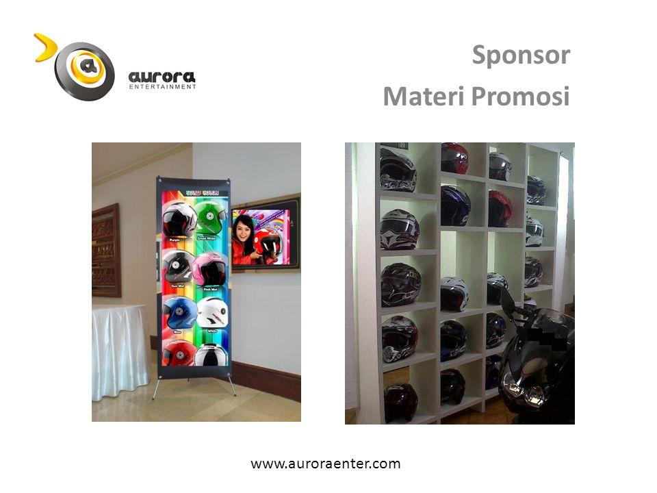 Sponsor Materi Promosi