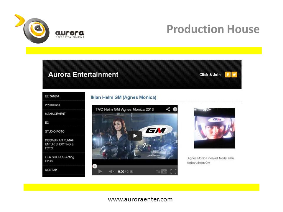 Production House www.auroraenter.com
