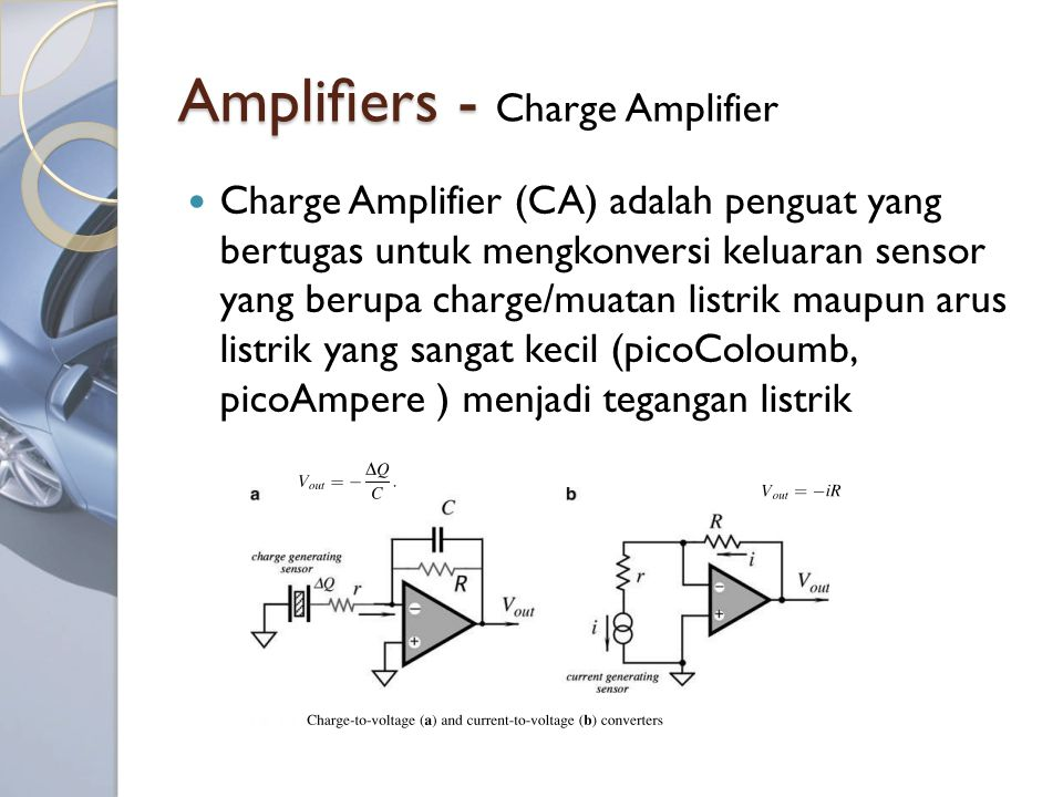 Amplifiers - Charge Amplifier