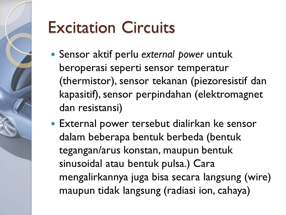 Excitation Circuits