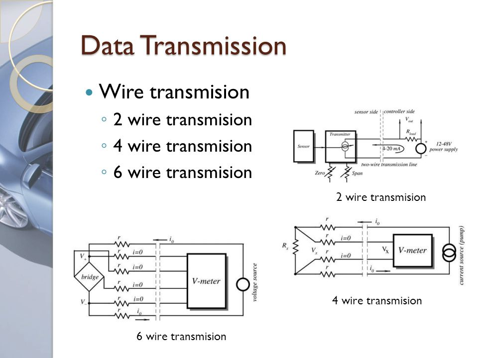 Data Transmission Wire transmision 2 wire transmision