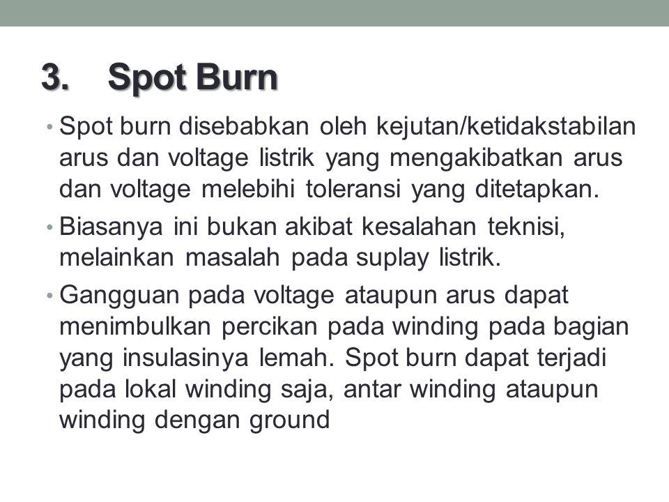 3. Spot Burn