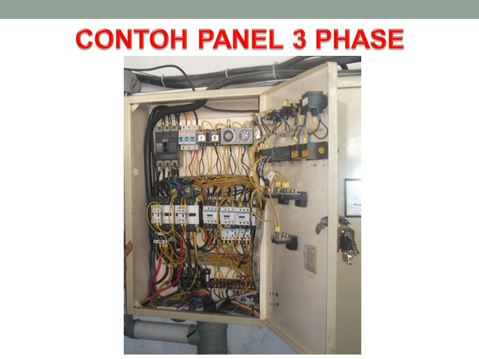 CONTOH PANEL 3 PHASE