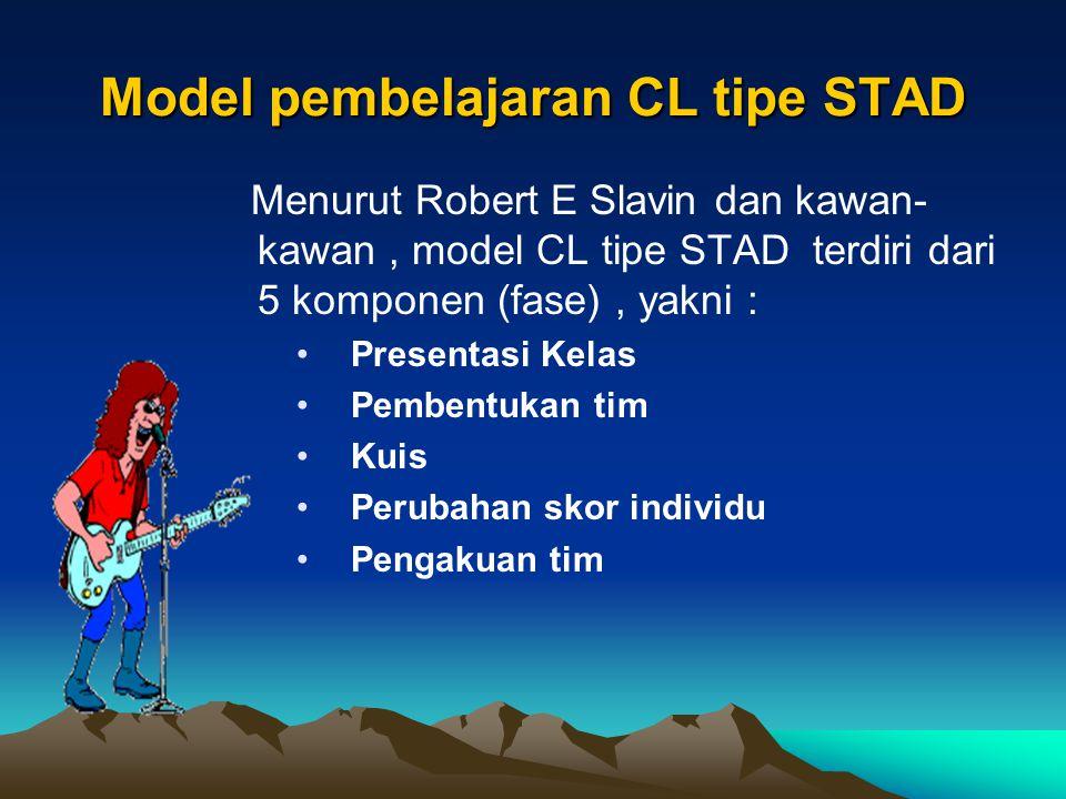 Model pembelajaran CL tipe STAD