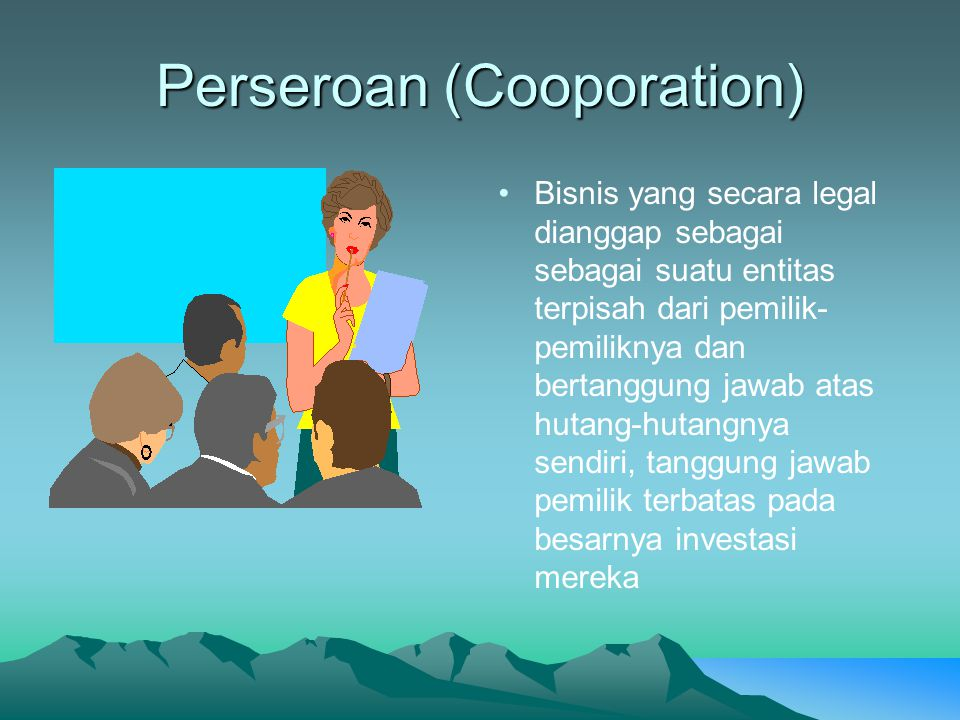 Perseroan (Cooporation)