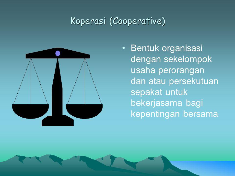 Koperasi (Cooperative)
