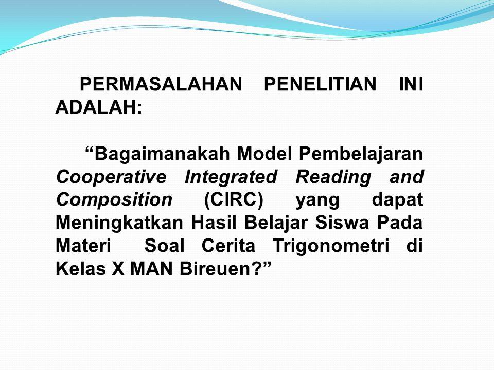PERMASALAHAN PENELITIAN INI ADALAH: