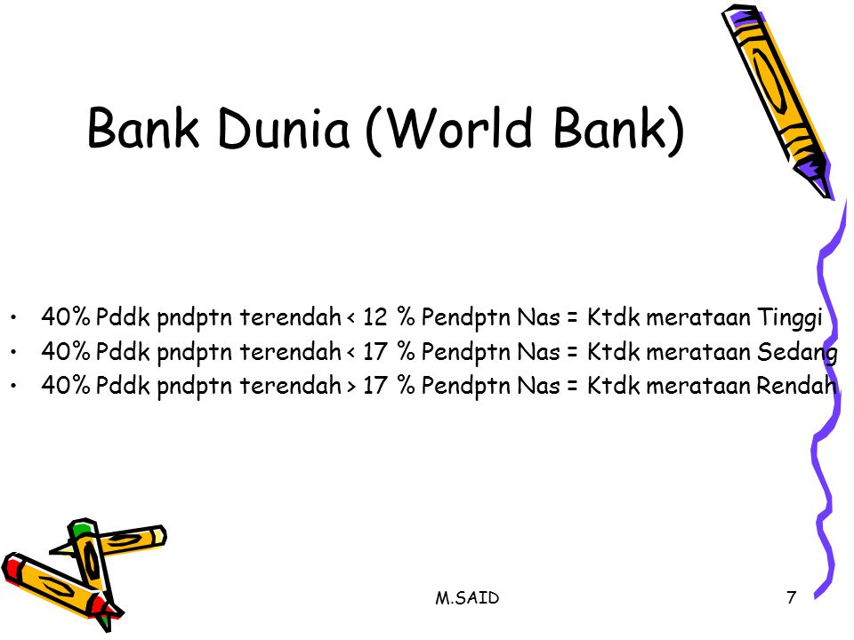 Bank Dunia (World Bank)