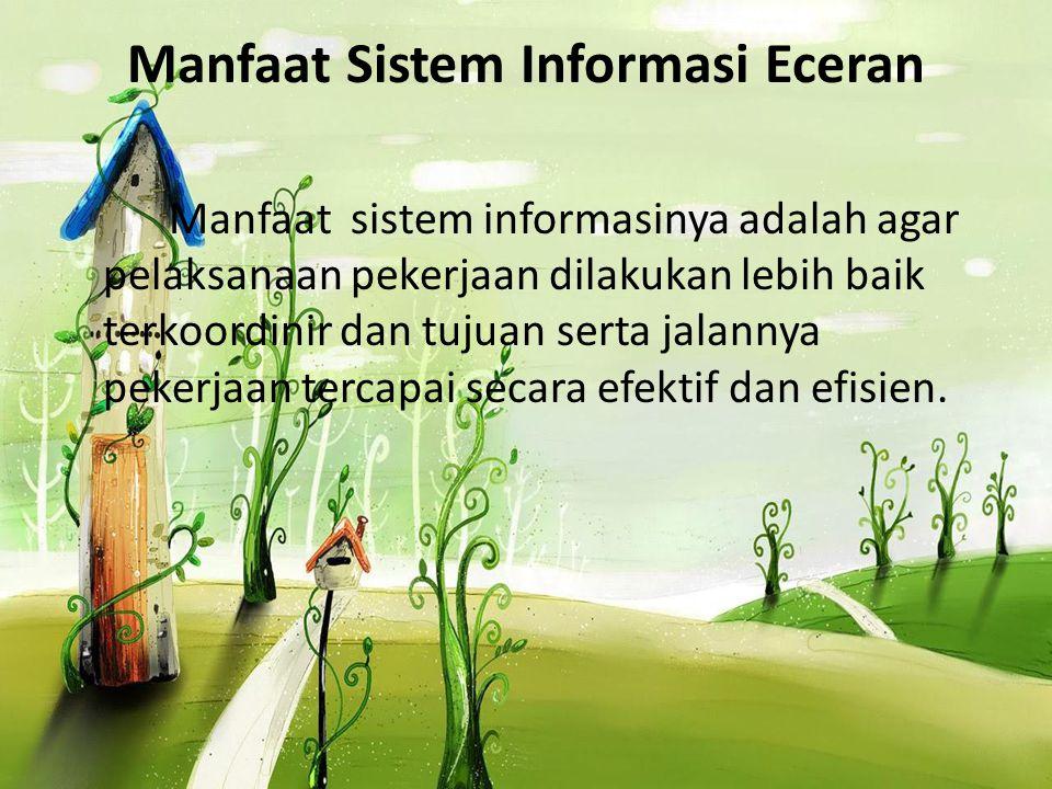Manfaat Sistem Informasi Eceran