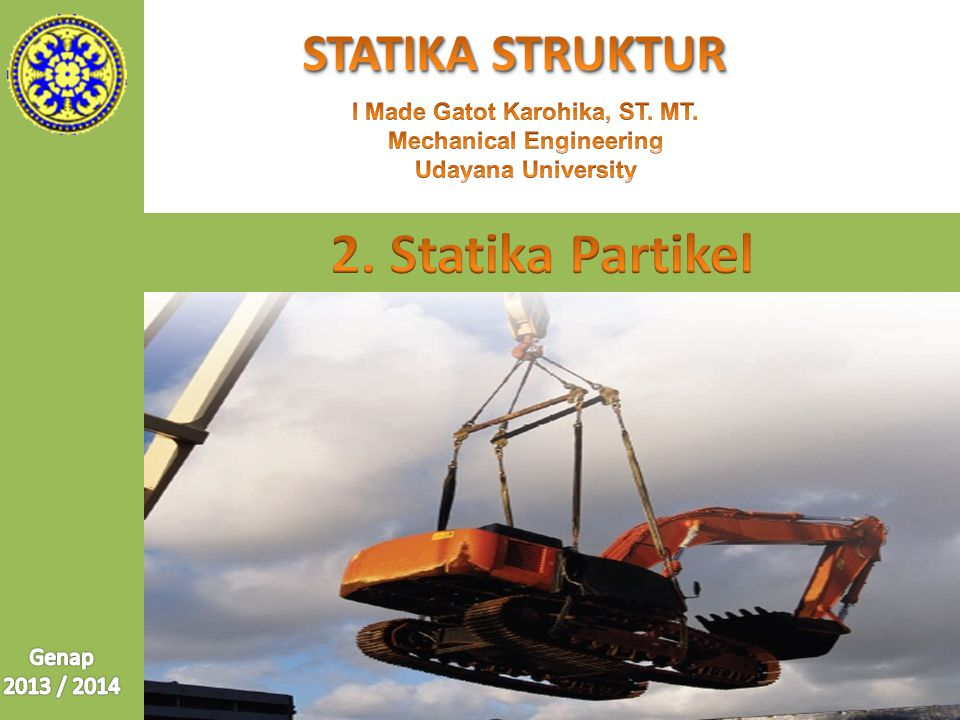 I Made Gatot Karohika, ST. MT. Mechanical Engineering