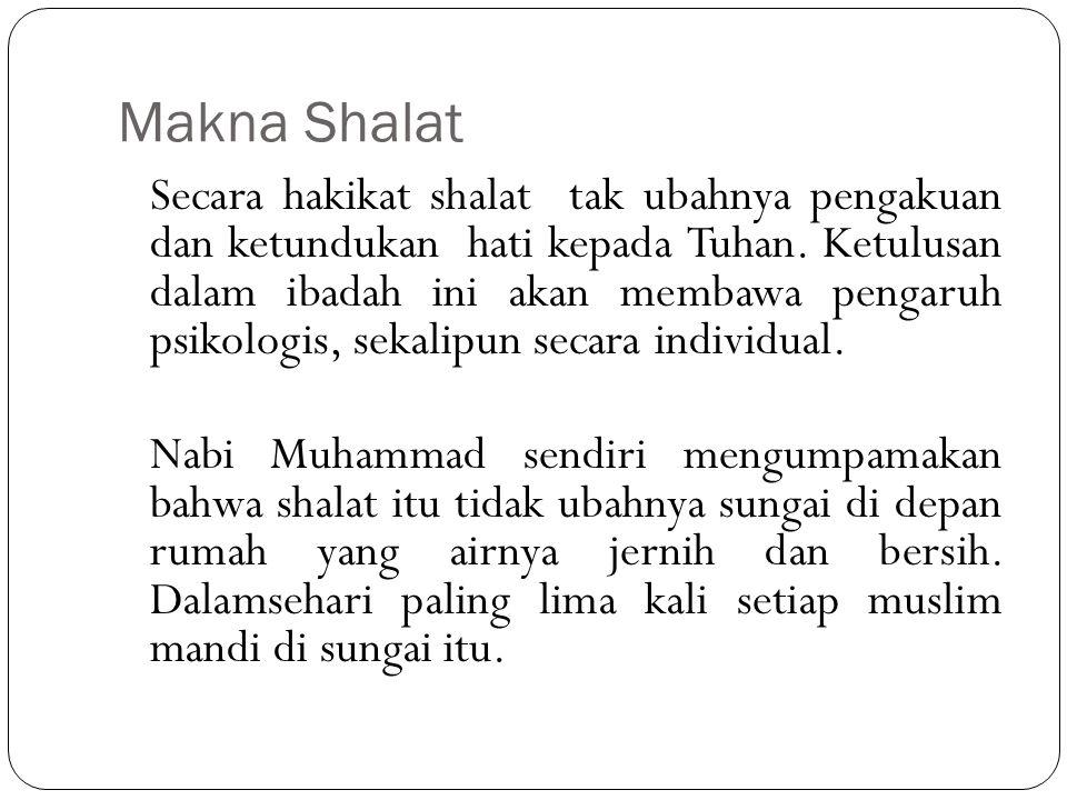 Makna Shalat