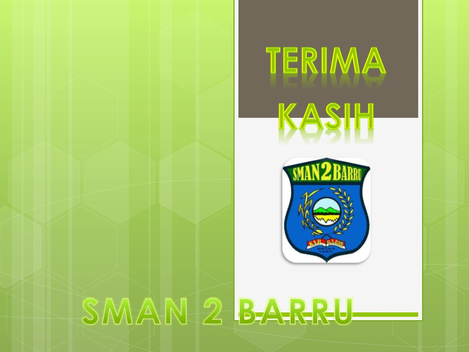 tERIMA KASIH SMAN 2 BARRU