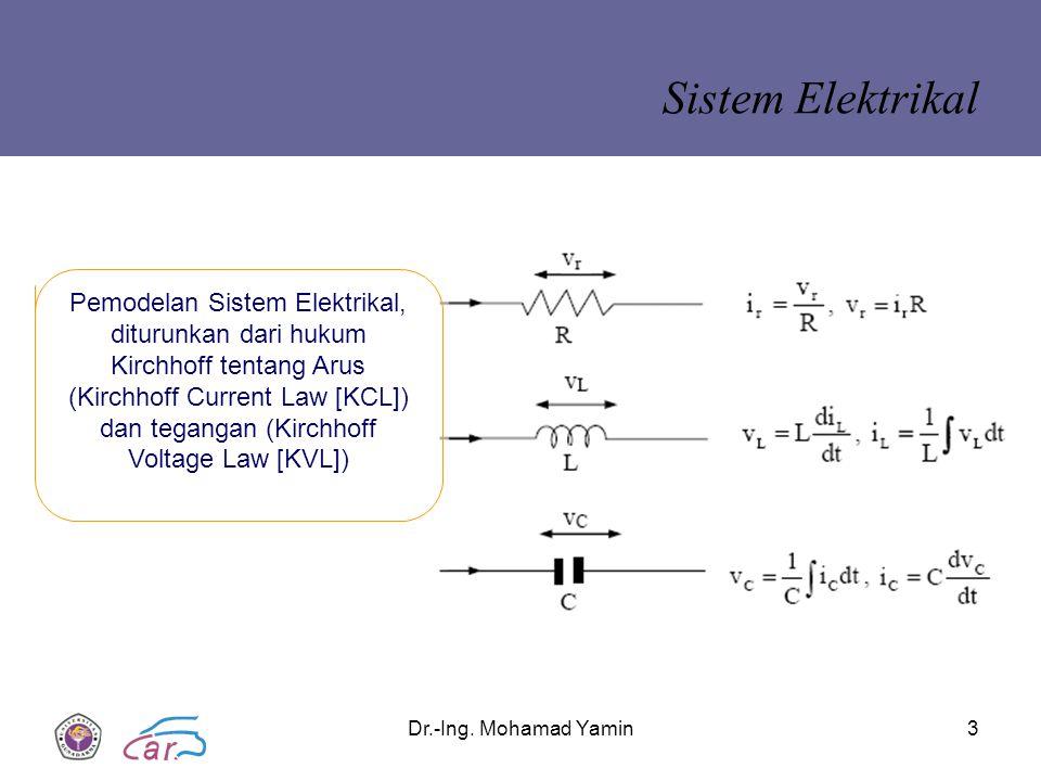 Sistem Elektrikal