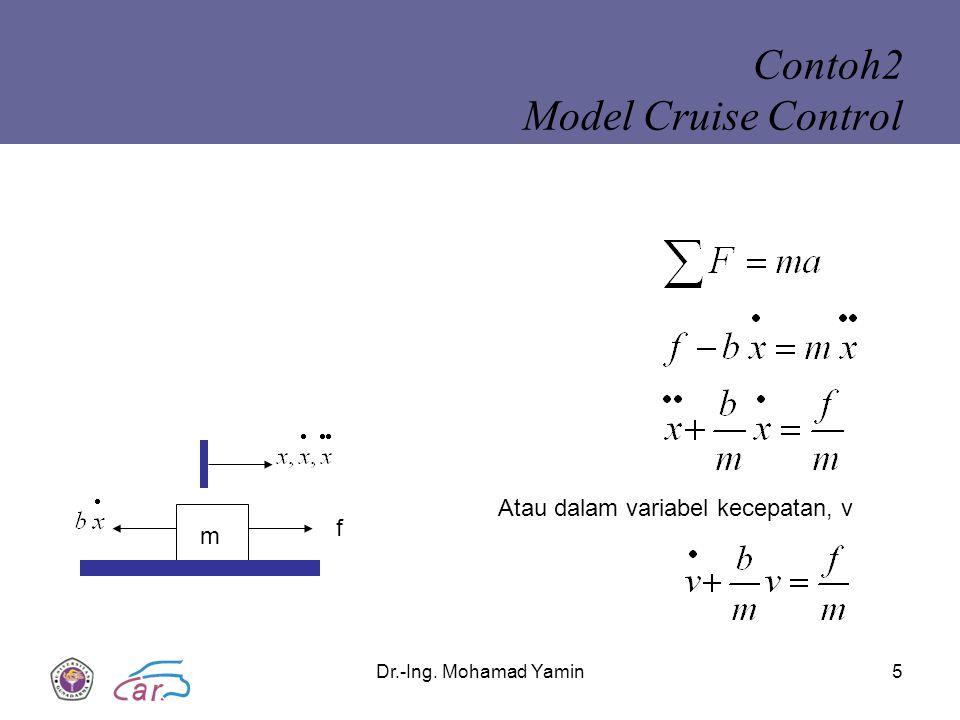 Contoh2 Model Cruise Control