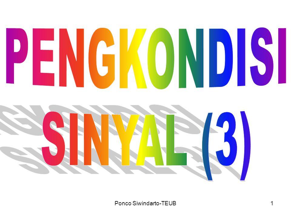 Ponco Siwindarto-TEUB