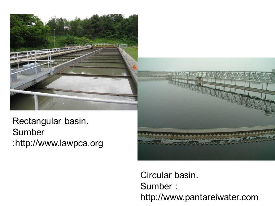 Rectangular basin. Sumber :http://www.lawpca.org.