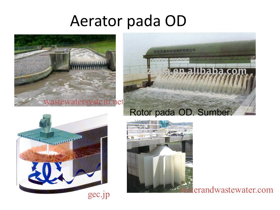 Aerator pada OD wastewatersystem.net