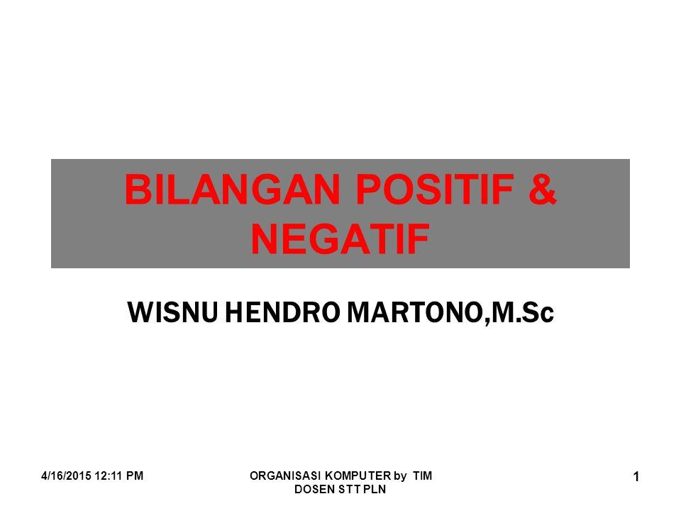 BILANGAN POSITIF & NEGATIF