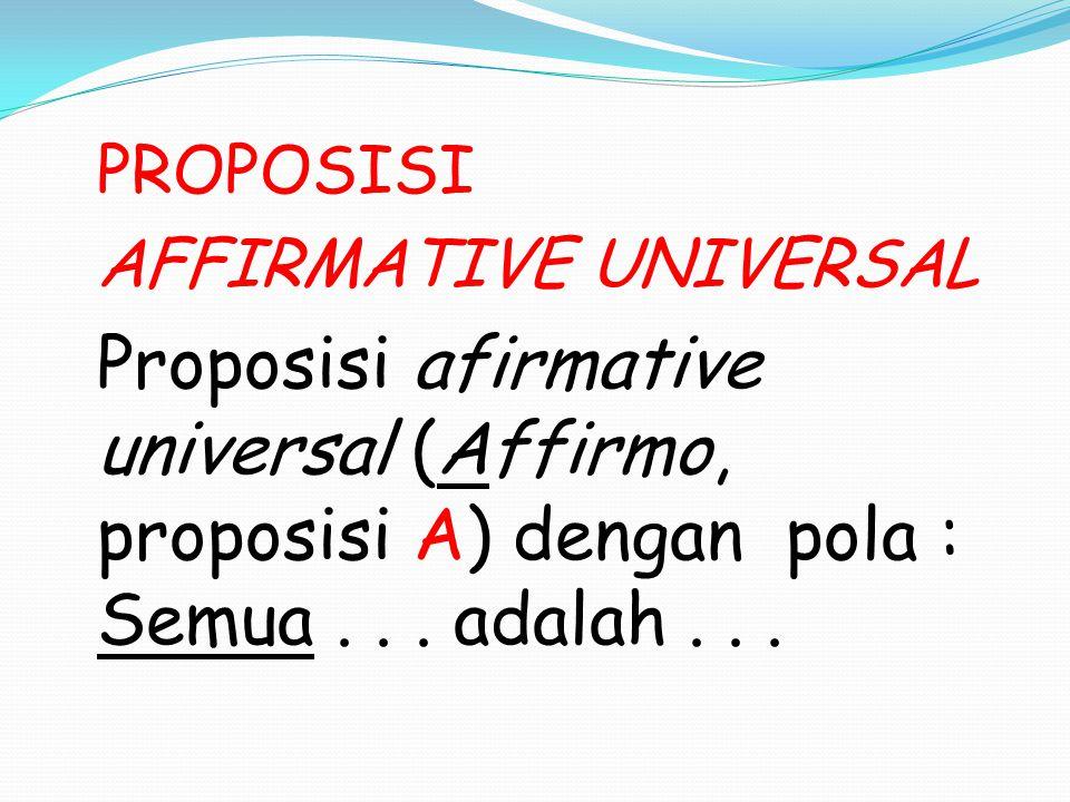 AFFIRMATIVE UNIVERSAL
