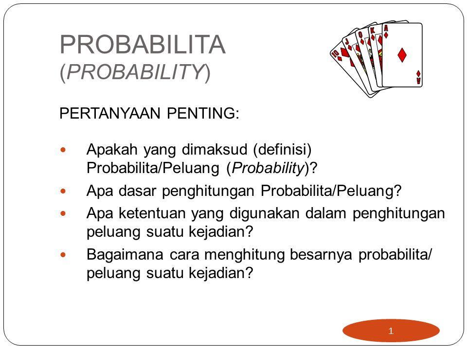 PROBABILITA (PROBABILITY)
