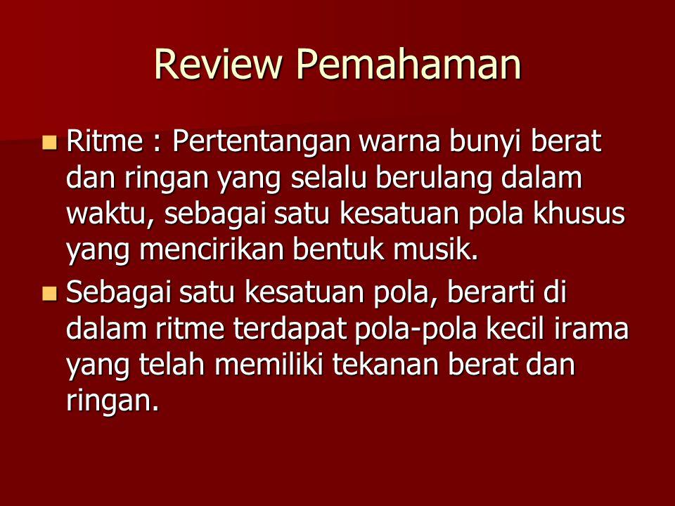 Review Pemahaman