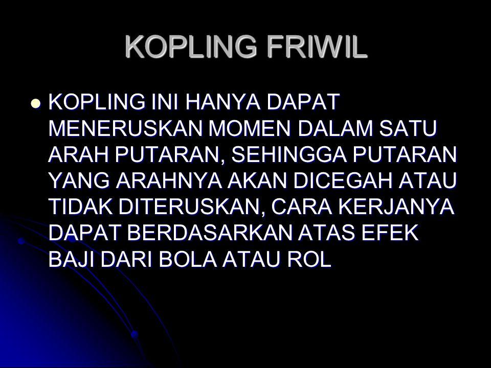 KOPLING FRIWIL
