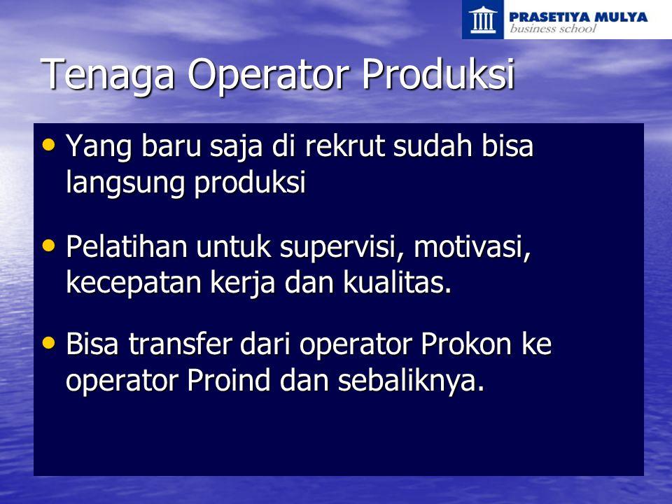 Tenaga Operator Produksi