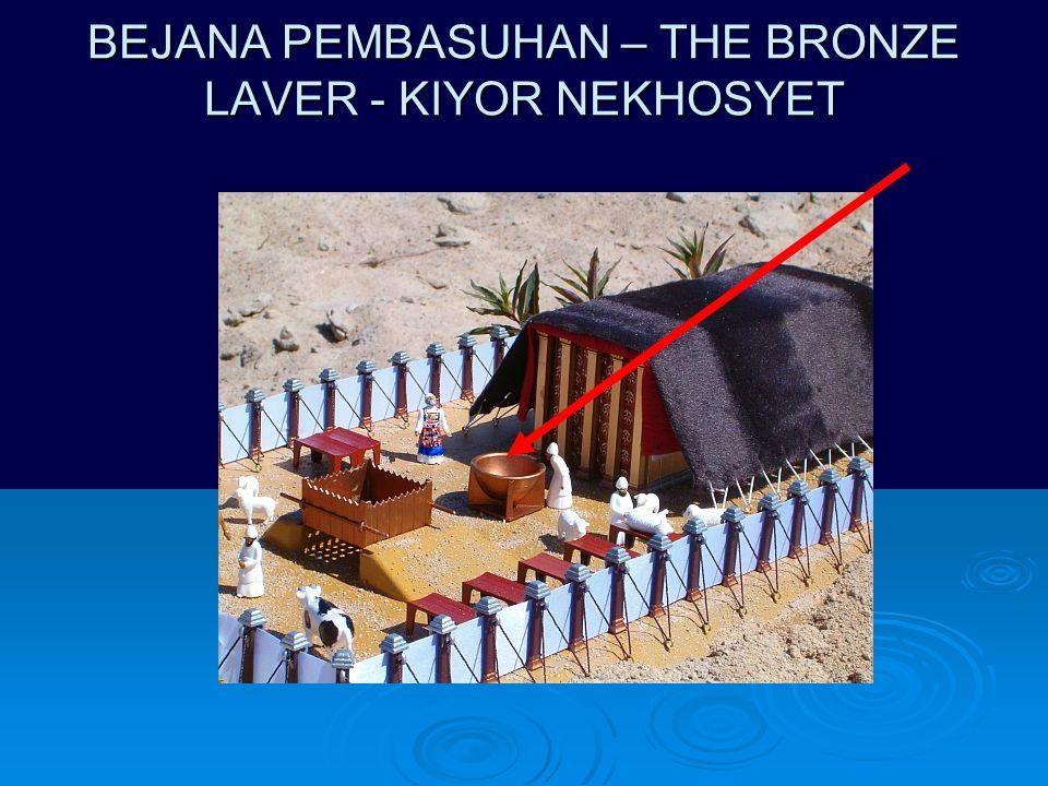 BEJANA PEMBASUHAN – THE BRONZE LAVER - KIYOR NEKHOSYET