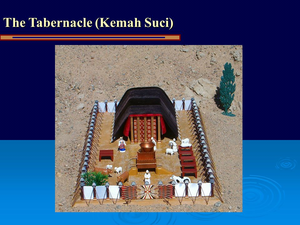 The Tabernacle (Kemah Suci)
