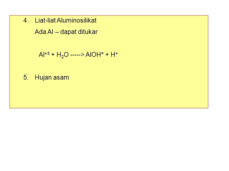 4. Liat-liat Aluminosilikat