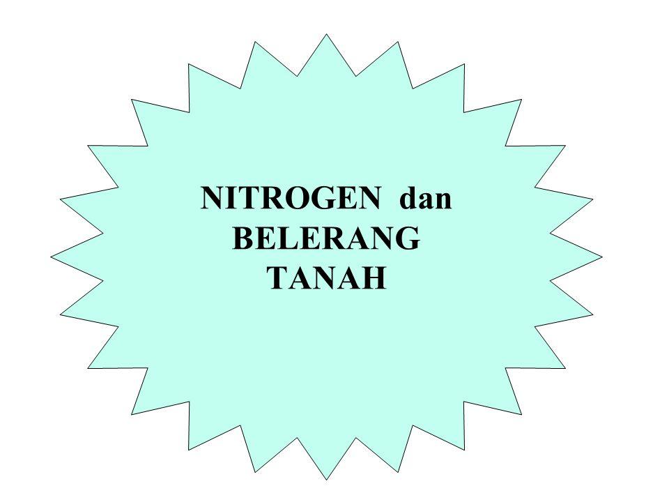 NITROGEN dan BELERANG TANAH