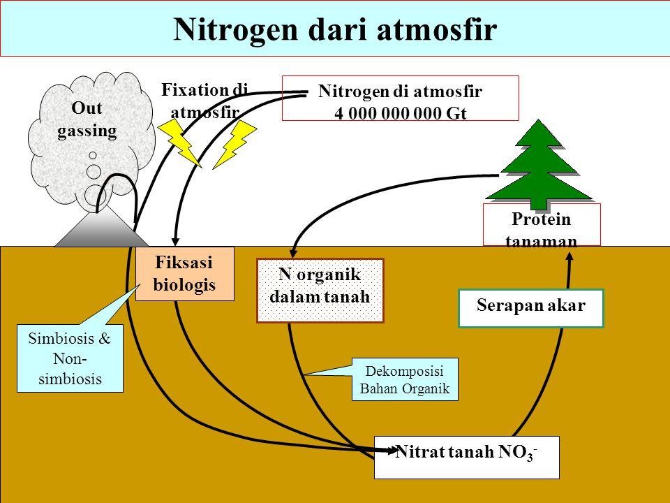 Nitrogen dari atmosfir