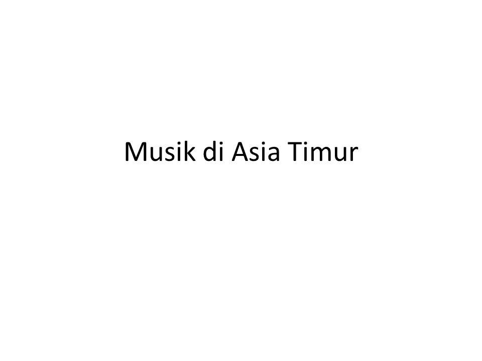 Musik di Asia Timur