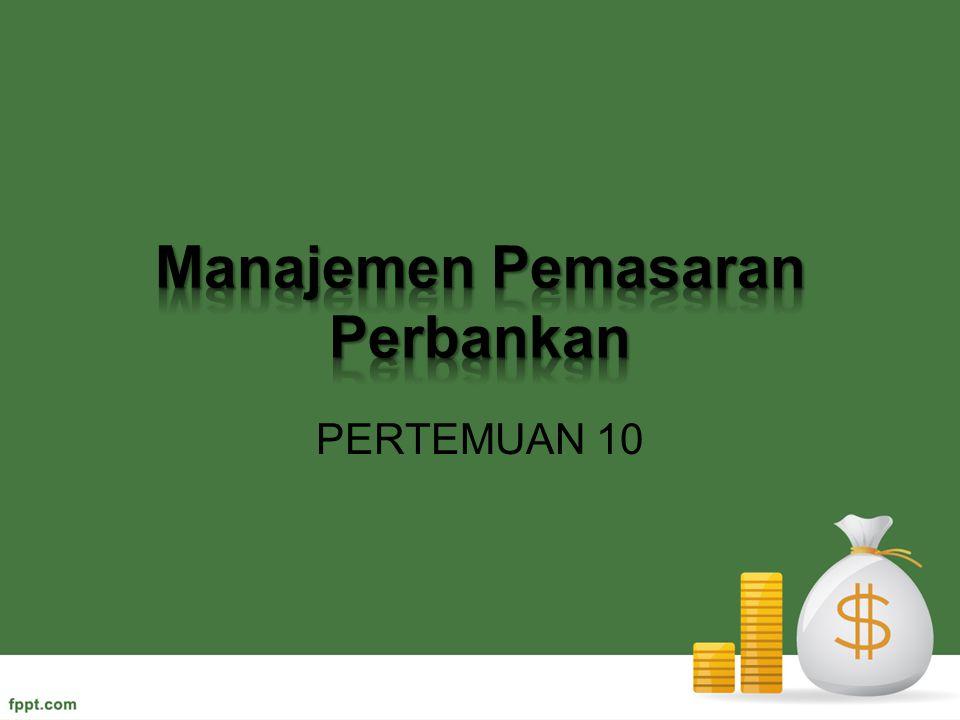 Manajemen Pemasaran Perbankan