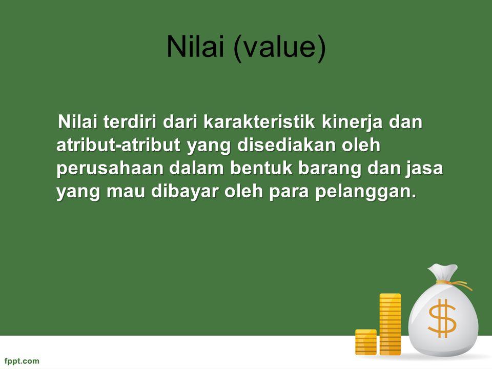 Nilai (value)