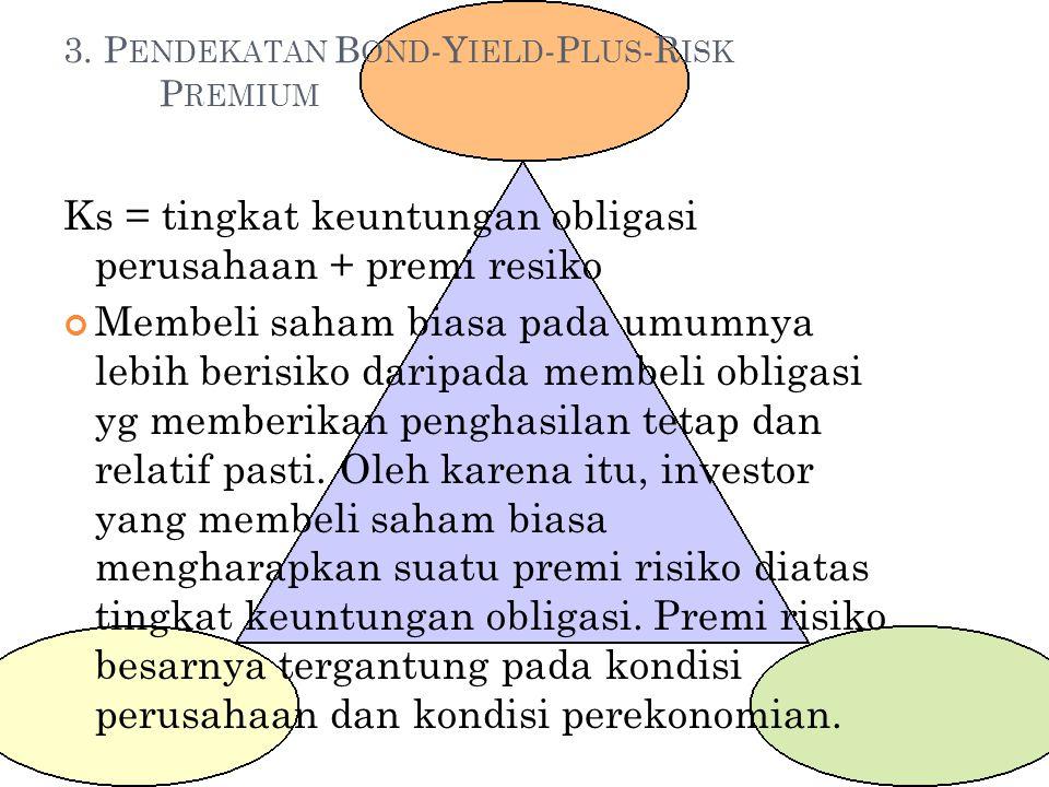 3. Pendekatan Bond-Yield-Plus-Risk Premium