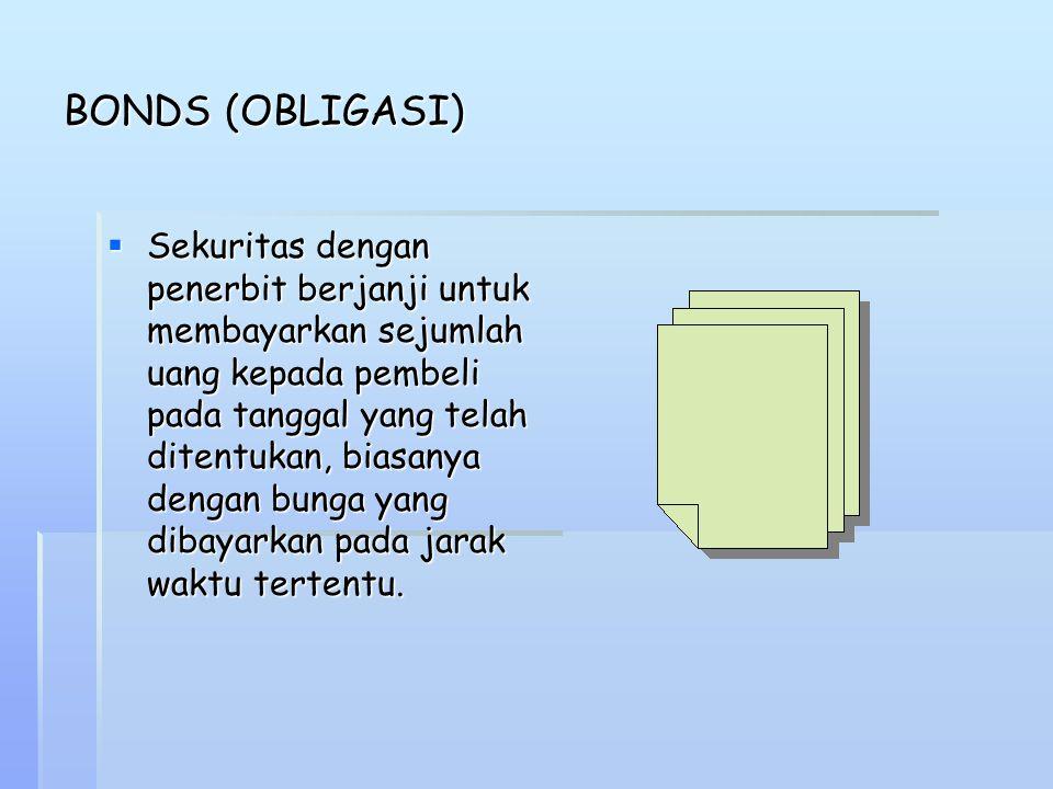 BONDS (OBLIGASI)