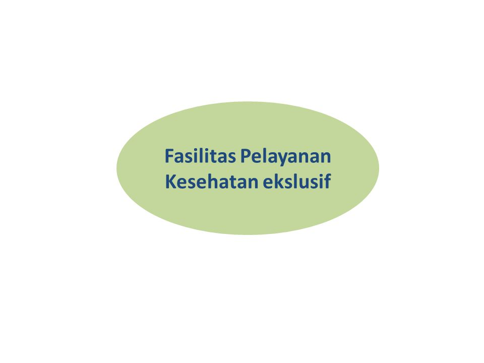 Fasilitas Pelayanan Kesehatan ekslusif
