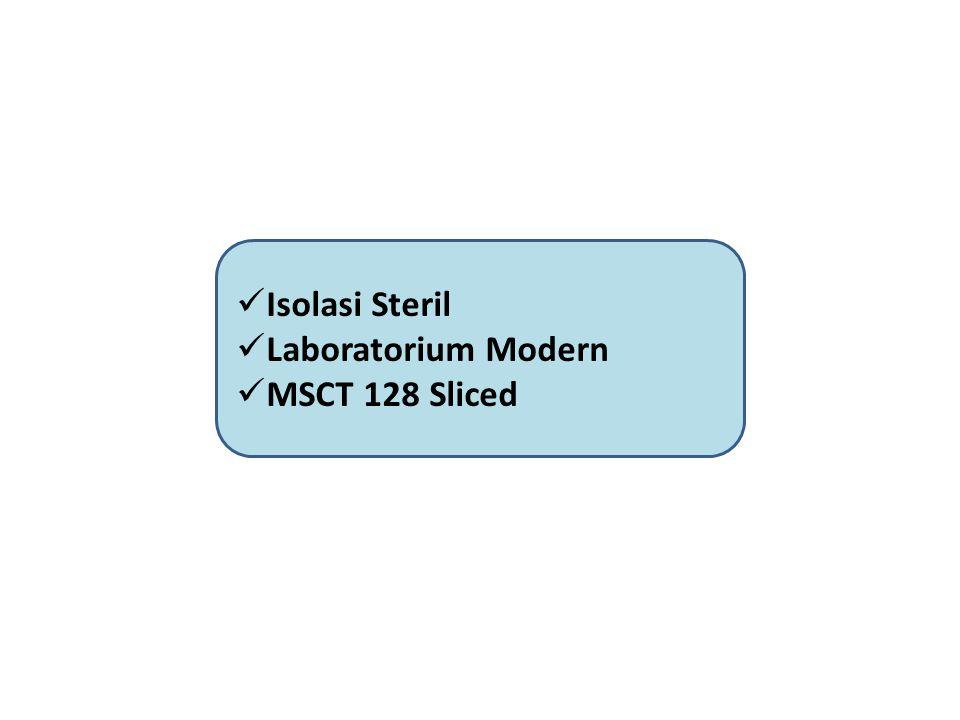 Isolasi Steril Laboratorium Modern MSCT 128 Sliced