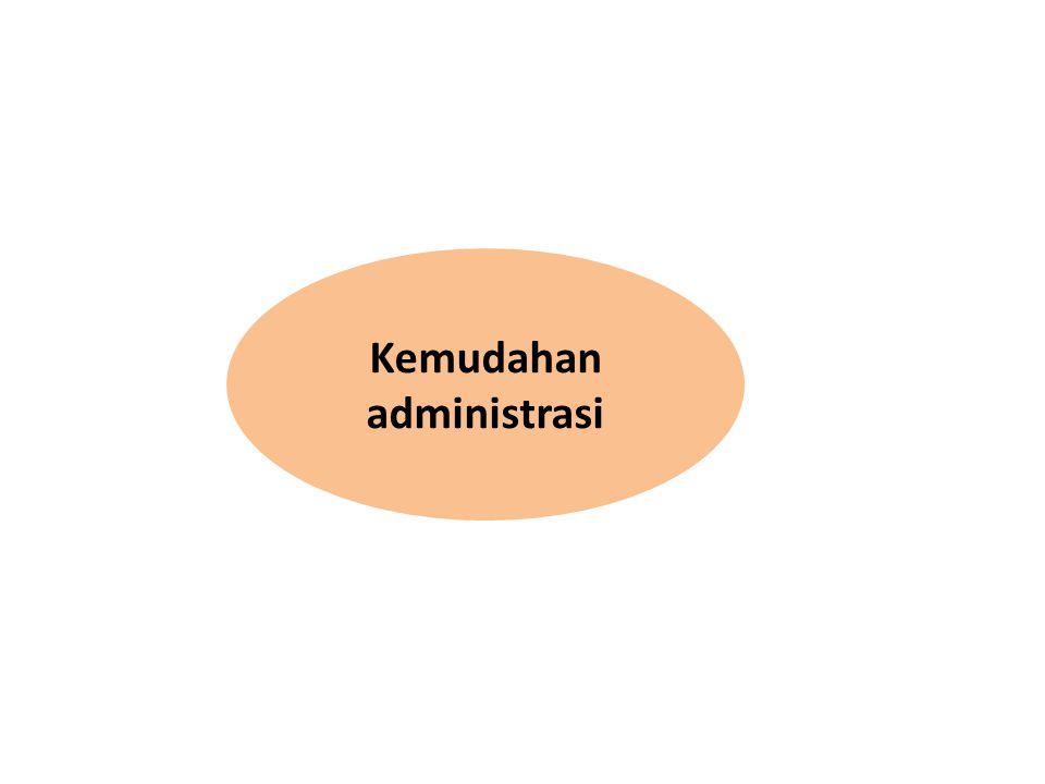 Kemudahan administrasi