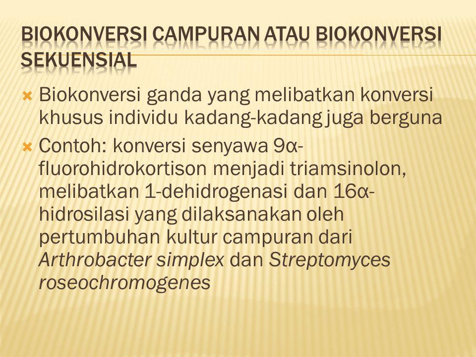 Biokonversi campuran atau biokonversi sekuensial