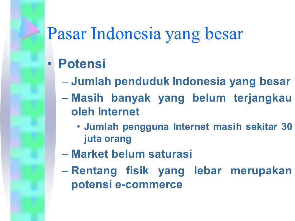 Pasar Indonesia yang besar
