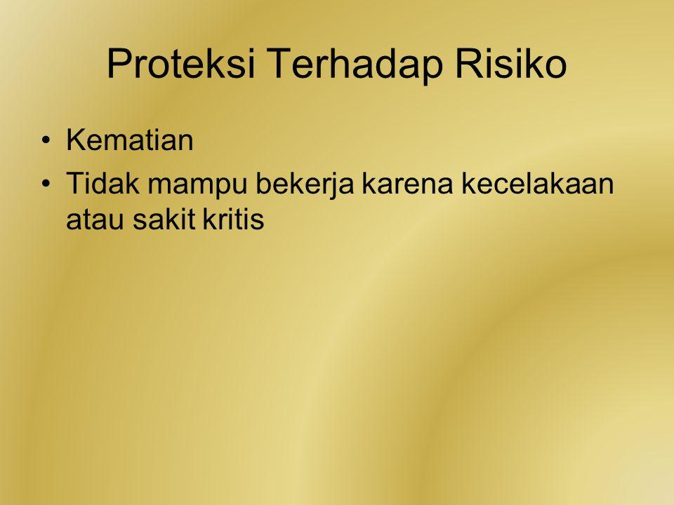 Proteksi Terhadap Risiko