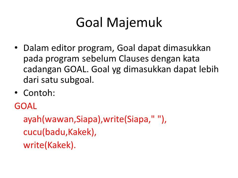 Goal Majemuk
