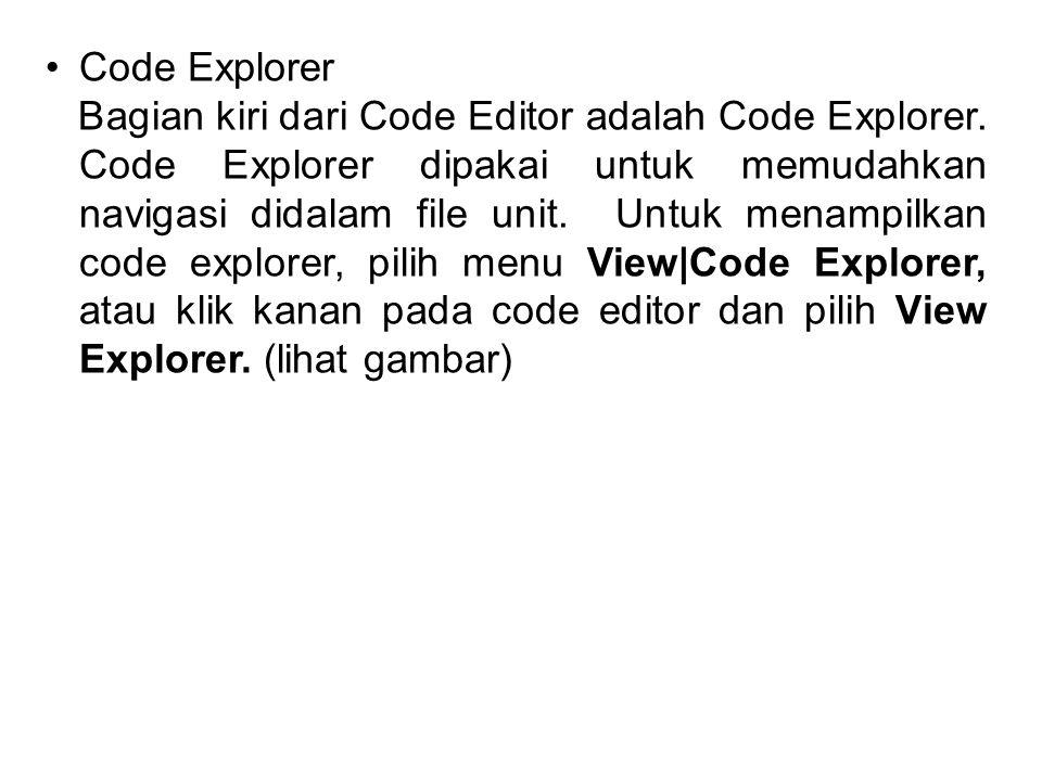 Code Explorer