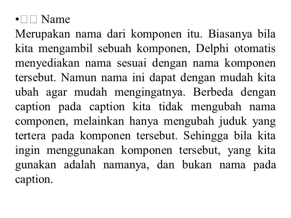  Name